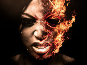 fire-half-face-wallpaper-hd