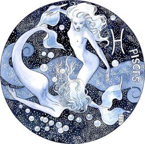 avataras n° XII ~ transformation: esprime l'energia del cambiamento, legata al meridiano fegato; incarna l'energia del segno pisces → la conclusione, il completamento di un ciclo, la metamorfosi.